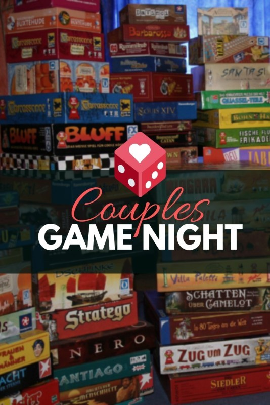 Couples Game Night - How to Plan with Checklist! 5
