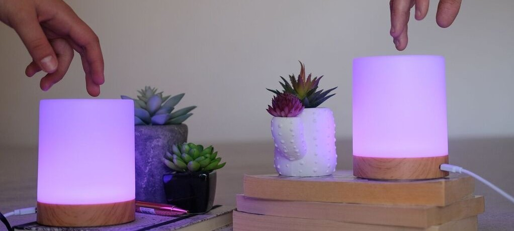 Long-Distance & Friendship Touch Lamps
